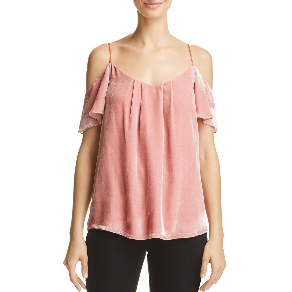 7c81db116ee4 joie-Dusty-Rose-Womens-Adorlee-G-Silk-Cold-Shoulder-Camisole-Top.jpeg