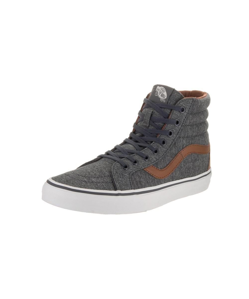 8fac46fd27 Lyst - Vans Unisex Sk8-hi Reissue (denim C&l) Skate Shoe in Gray for Men