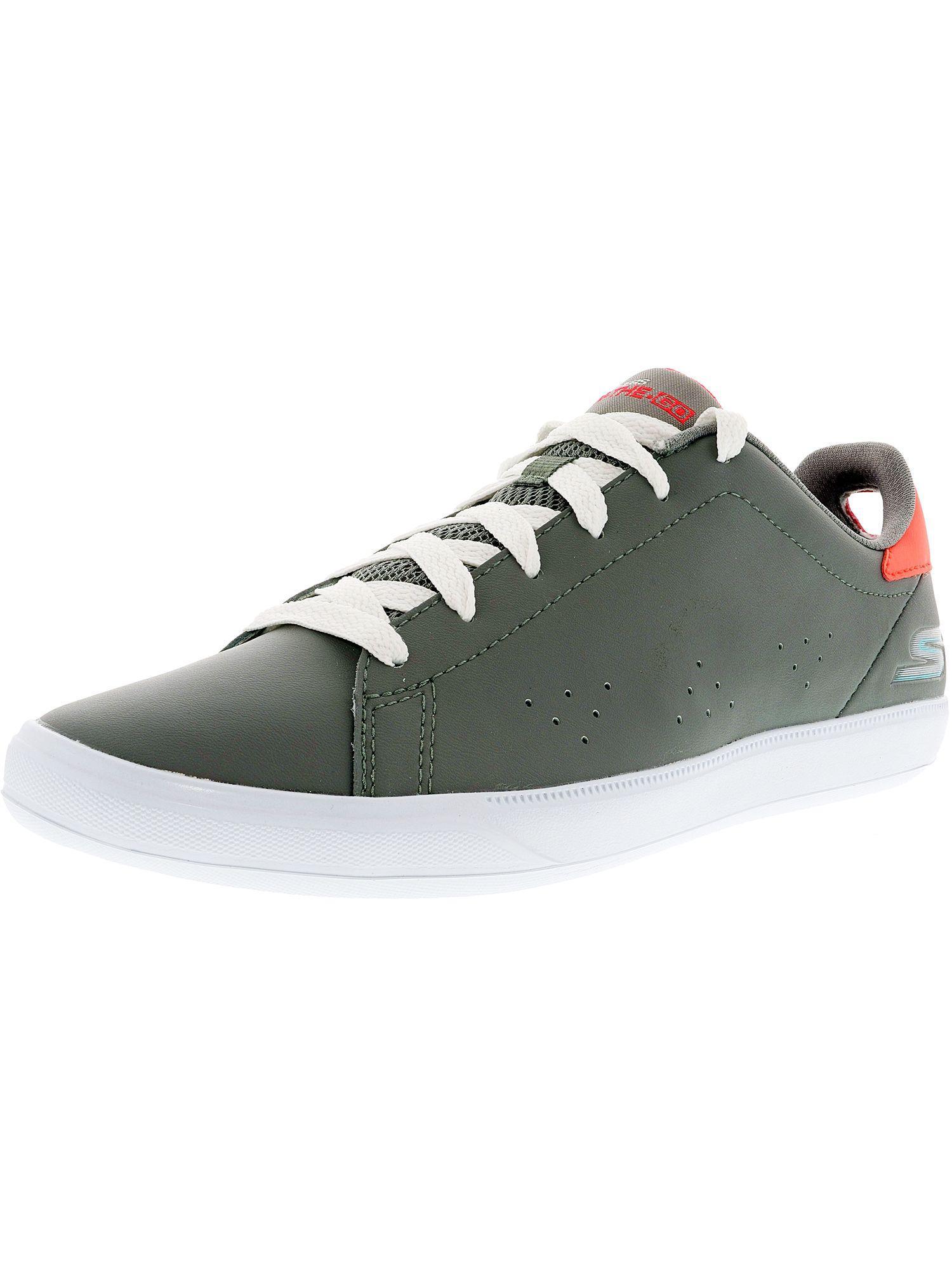 e6db1e868a Lyst - Skechers Women s On The Go Vulc 2 Gray Ankle-high Tennis Shoe ...