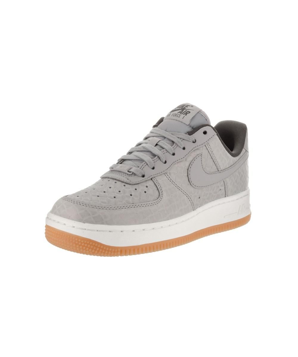 check out f4a09 fe814 Nike. Gray Women s Air Force 1  07 Prm Basketball Shoe