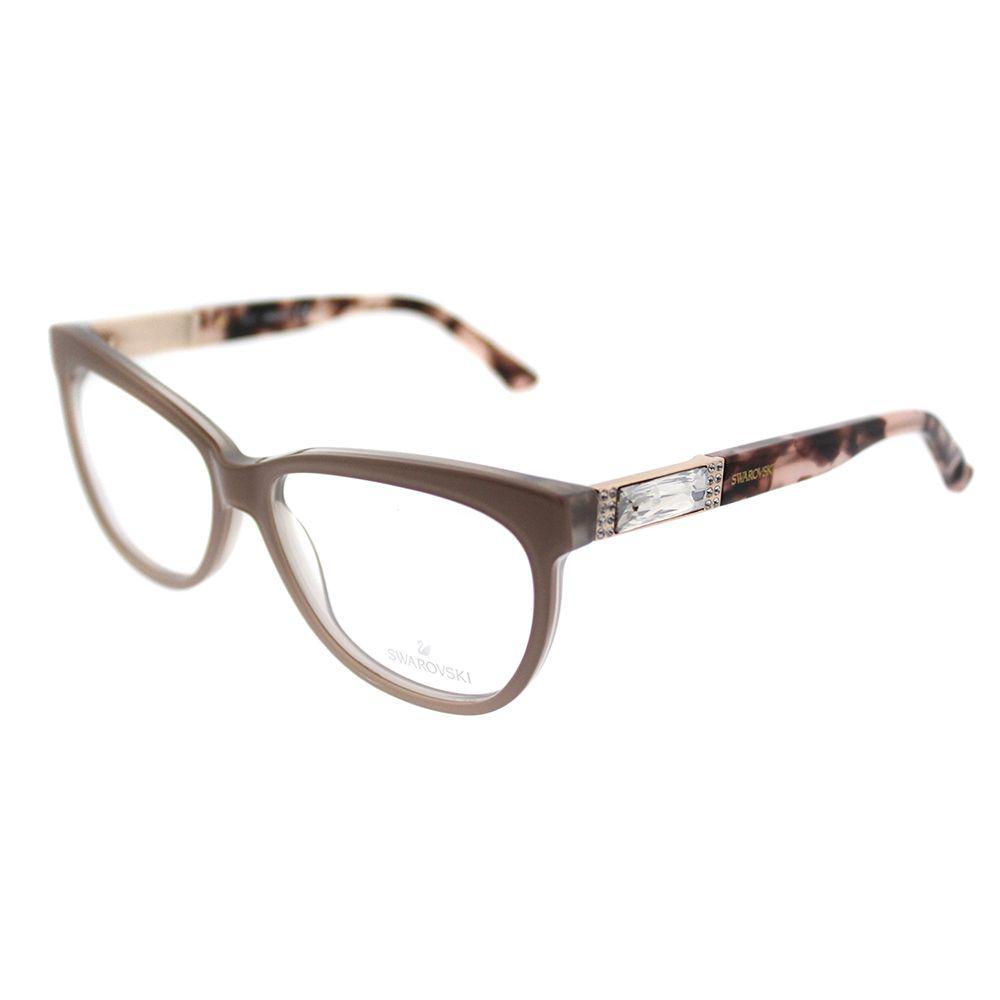 26476af971ff Lyst - Swarovski Sk 5091 072 Shiny Pink Cat-eye Eyeglasses in Brown