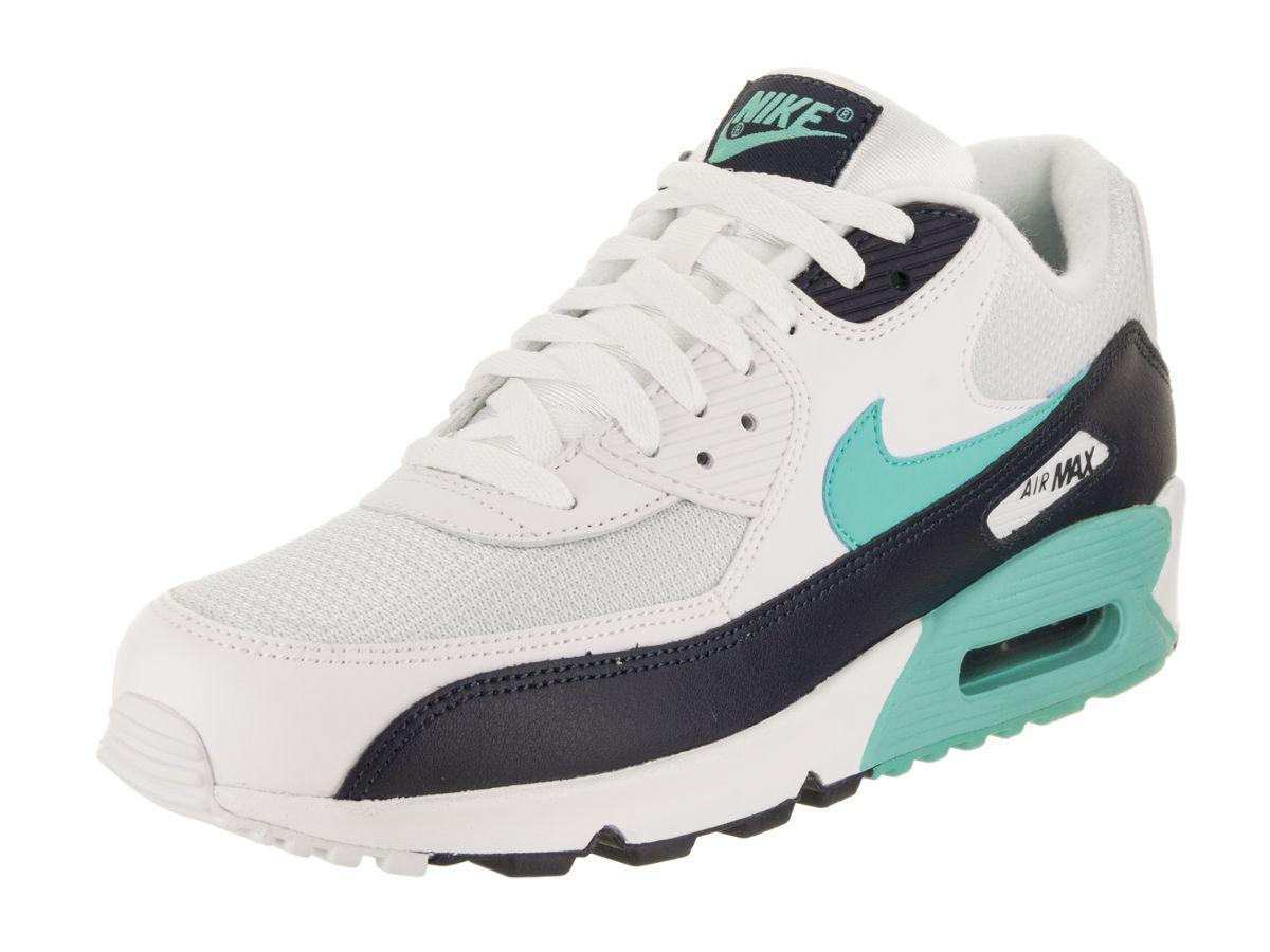 new product 3618c 87086 Nike. White Men s Air Max 90 Essential Running Shoe