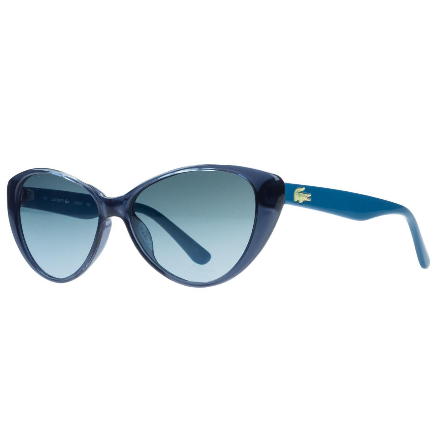 c252c4347b310c Lyst - Lacoste L3602 s 424 Blue Cat Eye Sunglasses in Blue