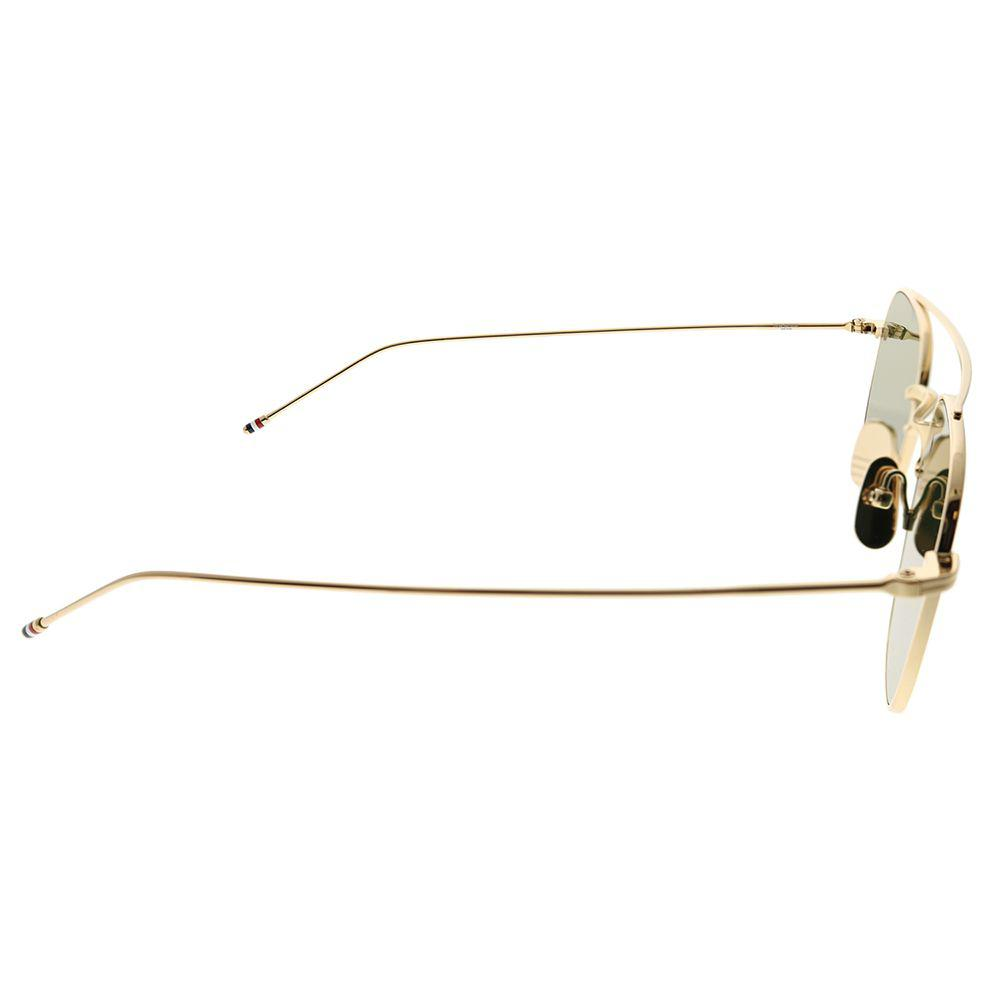 7ec21bac9193 Thom Browne - Multicolor Tb Tbs907-50-01 White Gold Square Sunglasses -  Lyst. View fullscreen