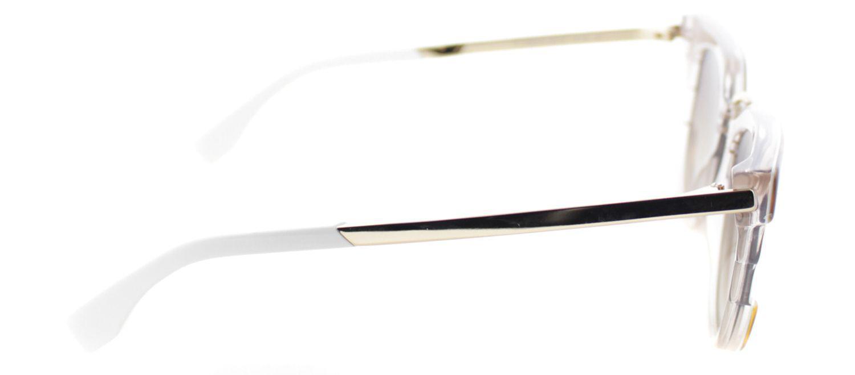 3ea24d9a32d Fendi - Ff0063 Muv Brown Cat-eye Sunglasses - Lyst. View fullscreen