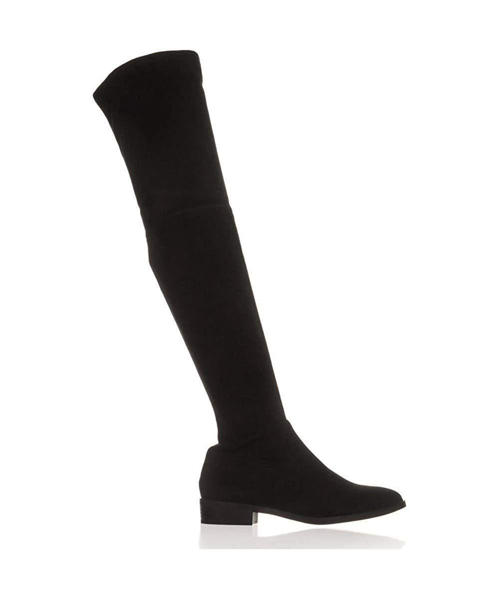 44cc5214075 INC International Concepts. Black Womens Irinaa Closed Toe Knee High  Fashion Boots