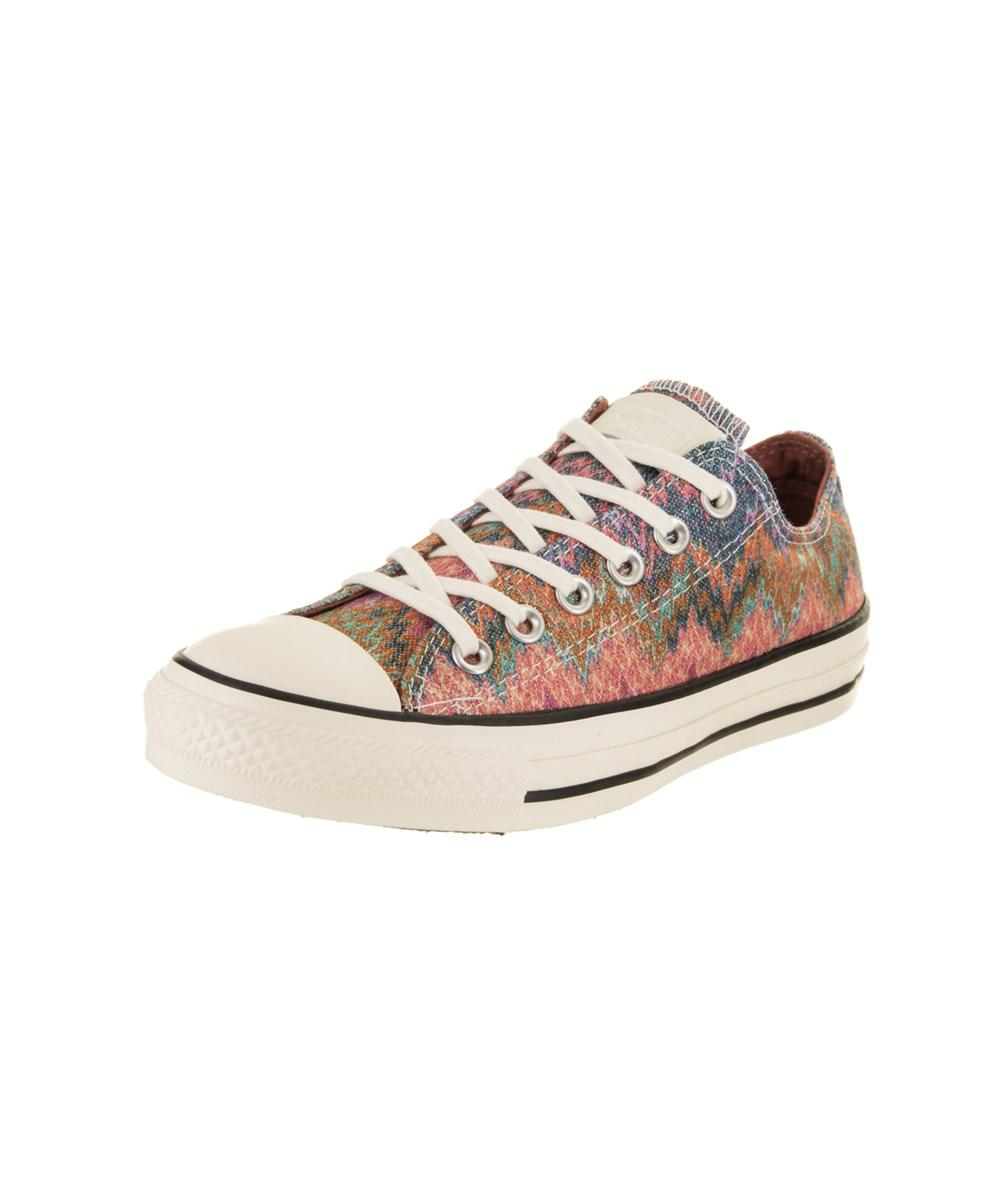 8f930b9b4a159f Converse - Multicolor Unisex Chuck Taylor All Star Missoni Ox Casual Shoe  for Men - Lyst. View fullscreen