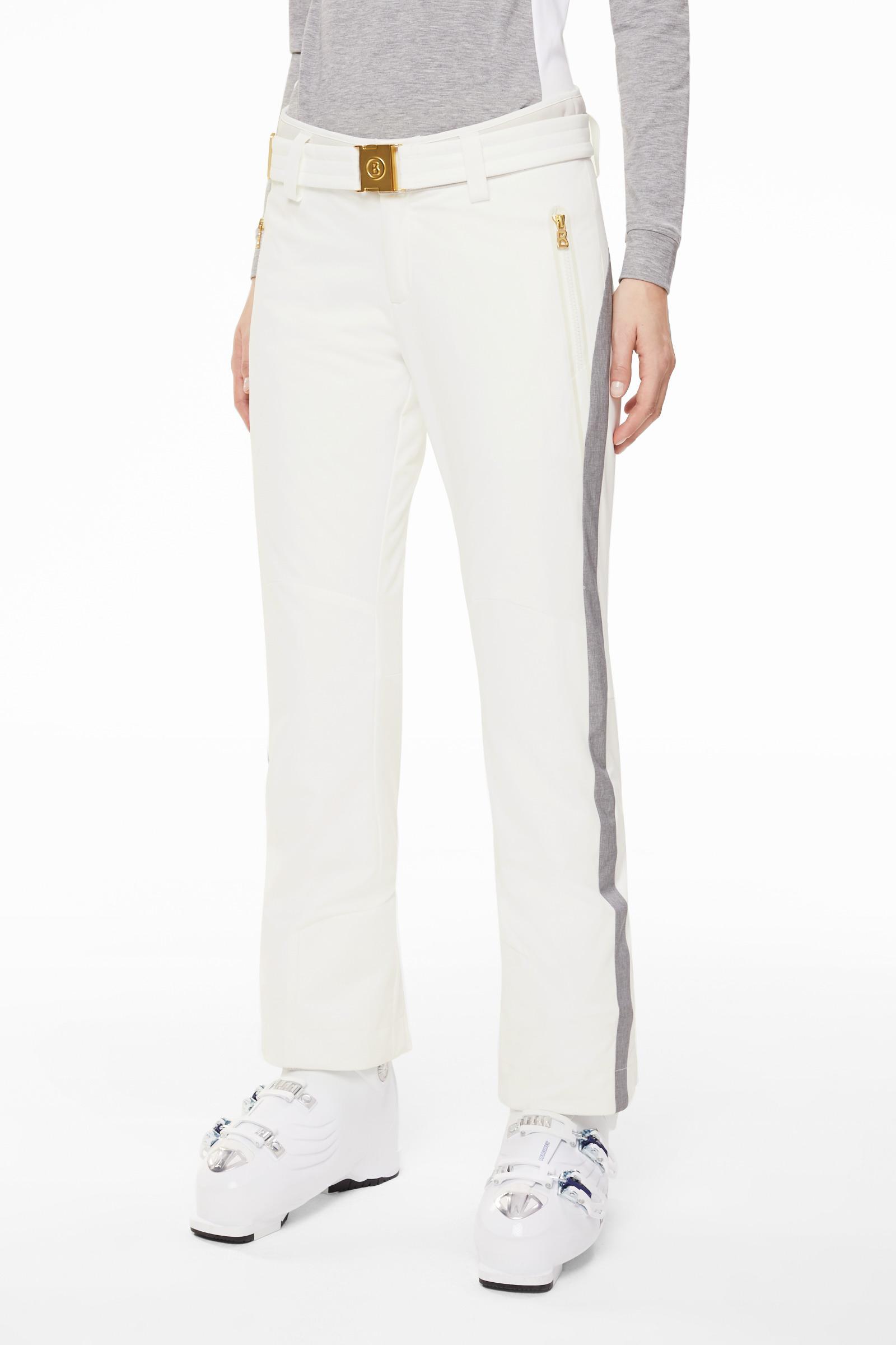5395d8acabc9c3 Lyst - Bogner Smilla Ski Trousers In Off-white in White - Save 20%