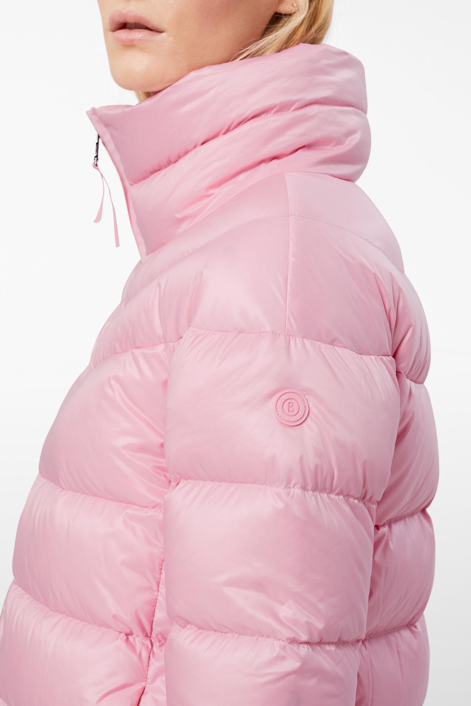 b8de60106a503f Bogner - Dorena Down Coat In Pink - Lyst. View fullscreen