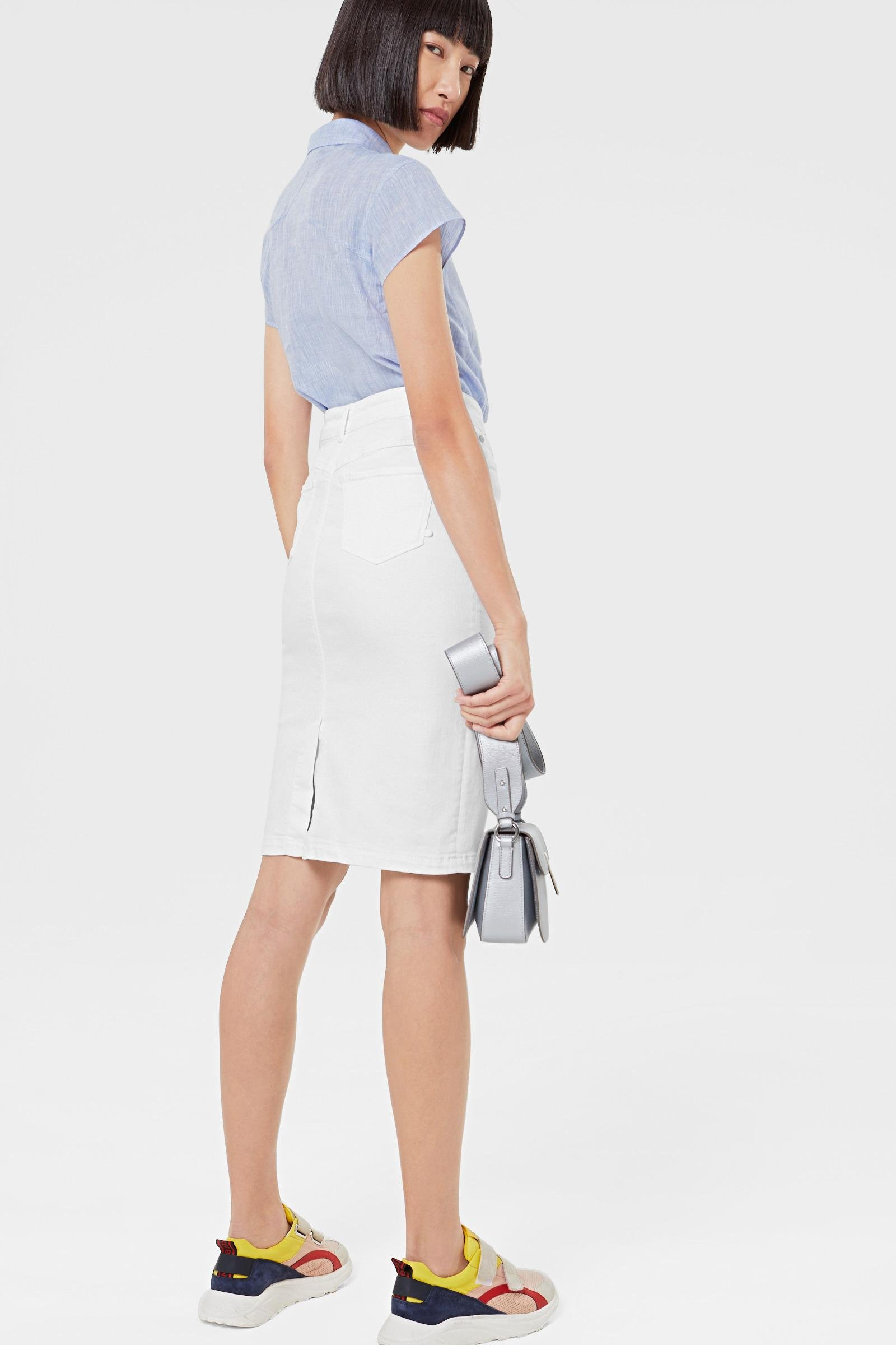 7efe7a686a3273 Bogner - Jodie Jean Skirt In White - Lyst. View fullscreen