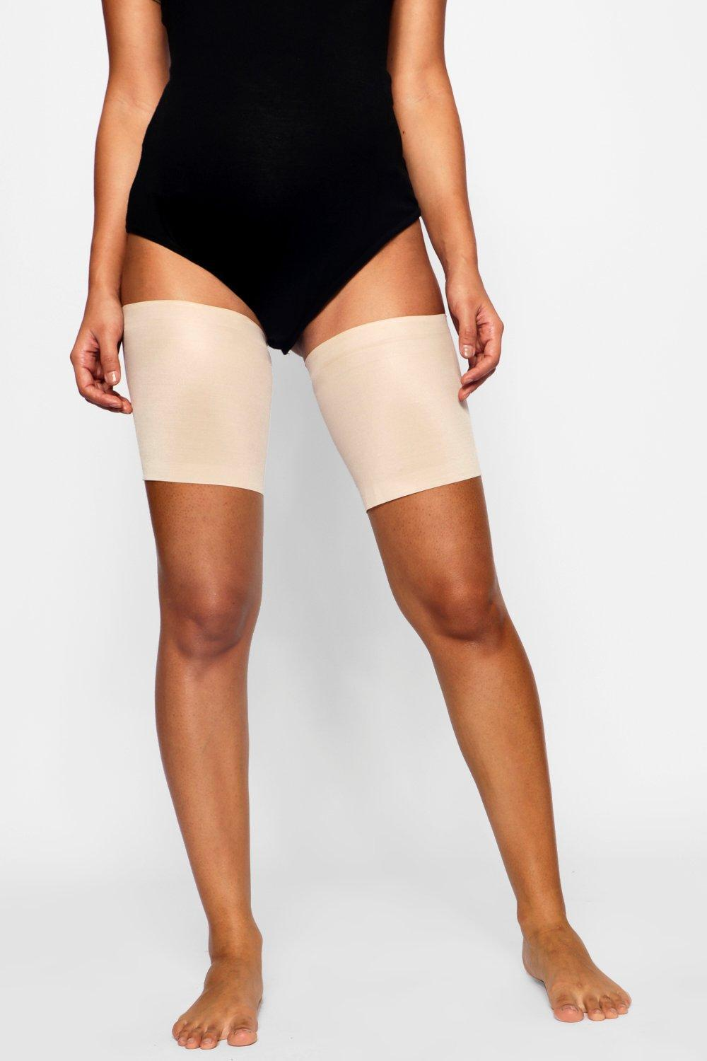5d3f76f193968 Boohoo Maternity Chafing Bands in Natural - Lyst