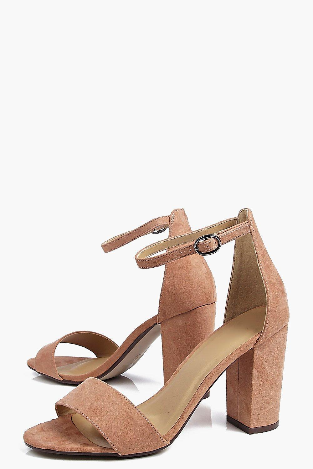 6380914f917e Boohoo - Multicolor Two Part Block Heels - Lyst. View fullscreen