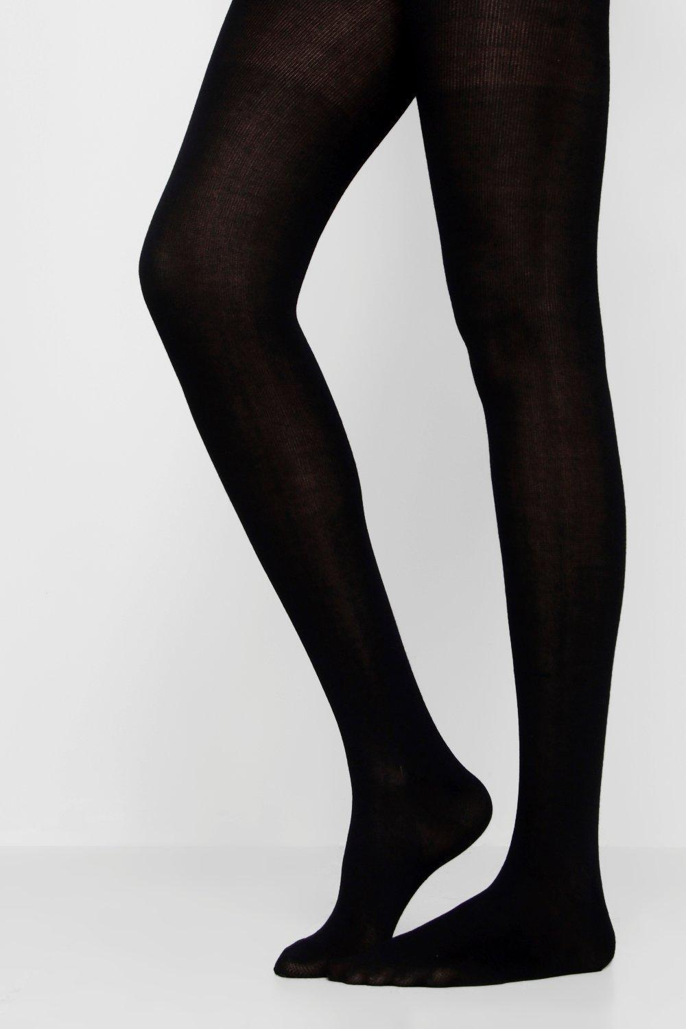 711f71ec0151f Gallery. Previously sold at: Boohoo · Women's Black Tights ...