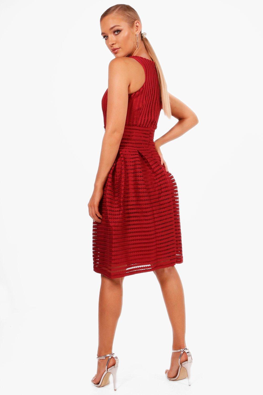 495be3798b62 Boutique Panelled Full Skirt Skater Dress - PostParc