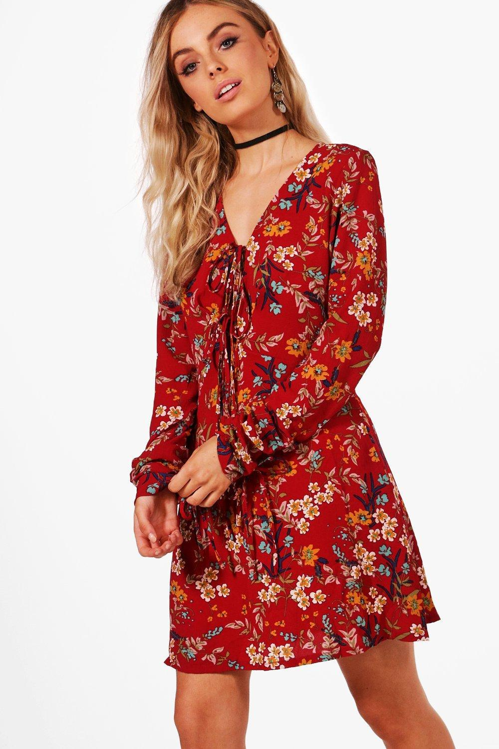 Gallery. Previously sold at  Boohoo · Women s Skater Dresses ... 99eb91f60