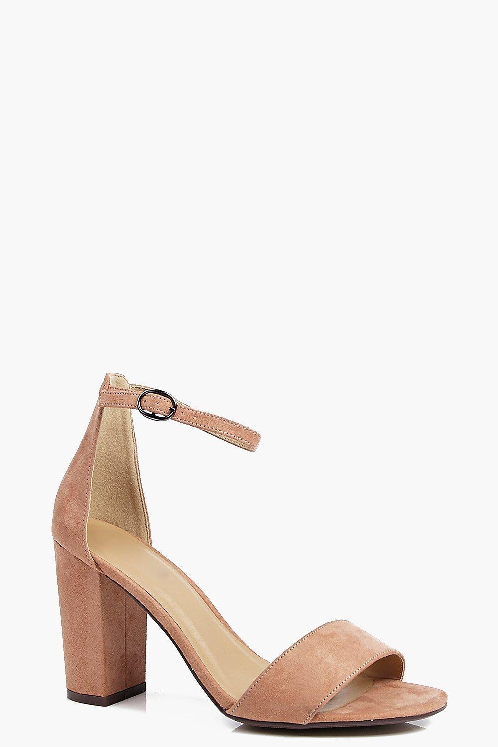 ba8bf9e6f208 Boohoo. Women s Two Part Block Heels
