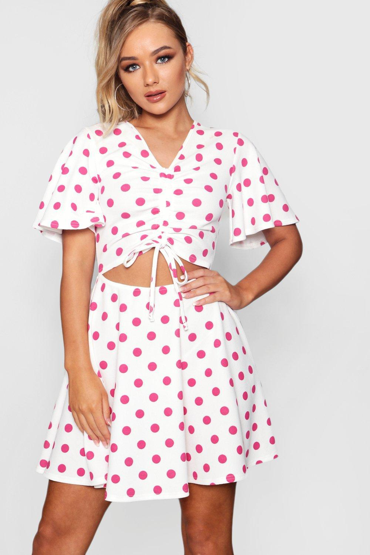 525177da022 Gallery. Previously sold at  Boohoo · Women s Polka Dot Dresses ...