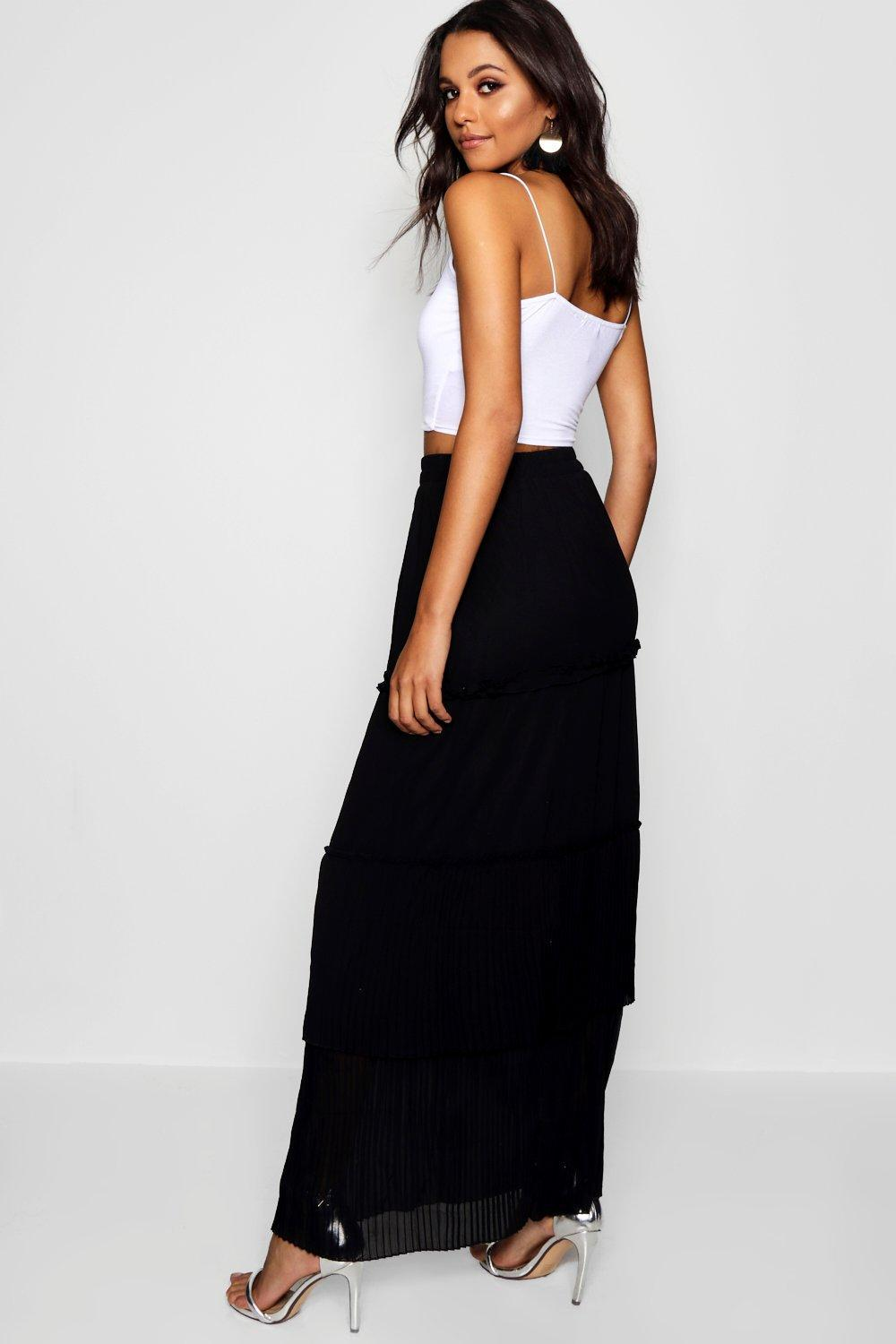 471dd5524 Gallery. Previously sold at: Boohoo · Women's Pleated Skirts