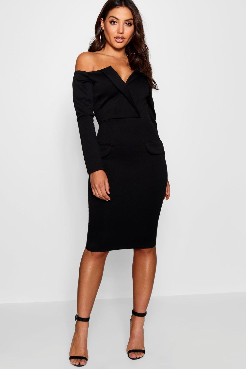 840526665a30 Gallery. Previously sold at  Boohoo · Women s Off Shoulder Mini Dresses ...