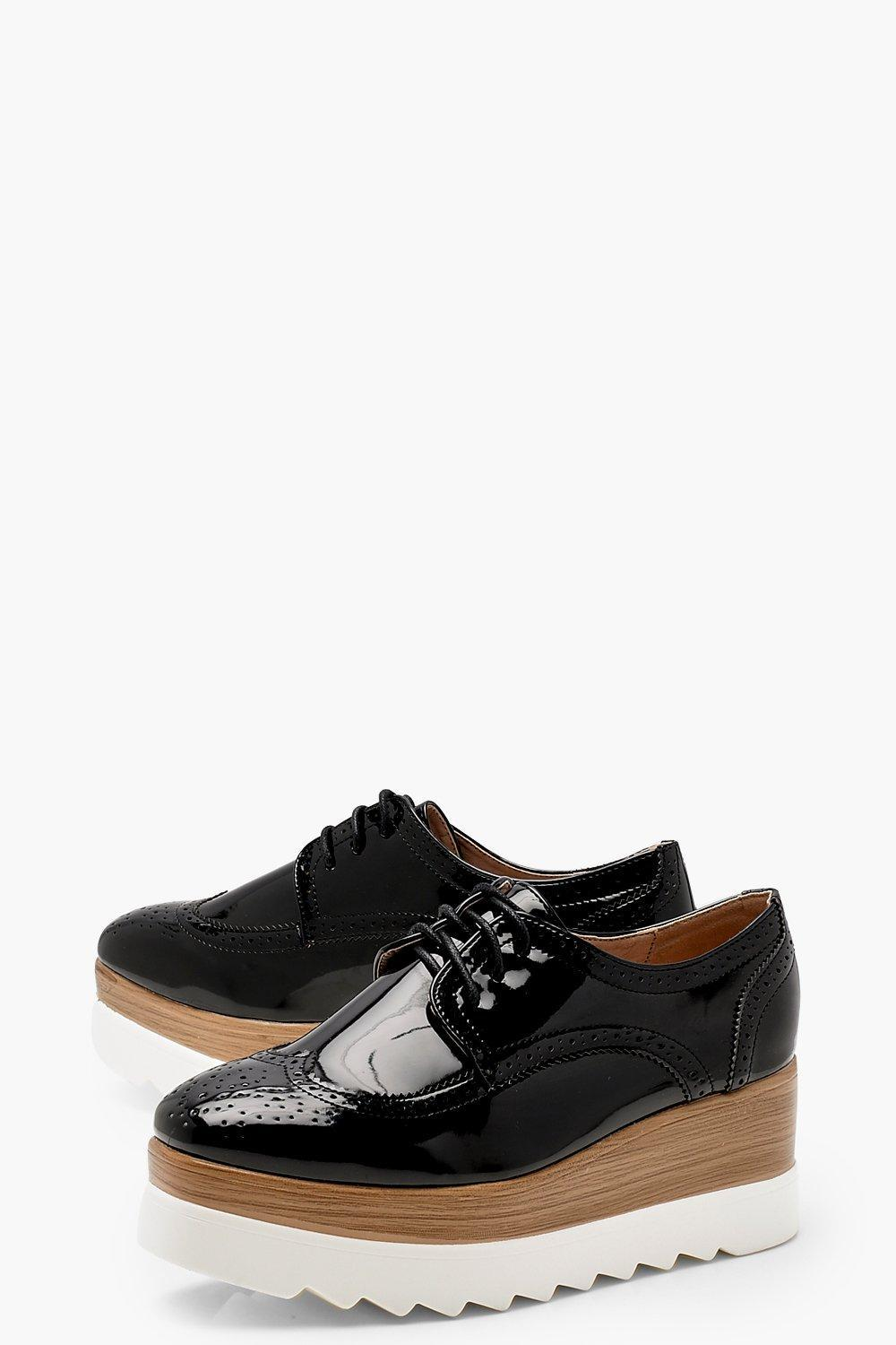 Mia Cleated Lace Up Brogues RBNBc
