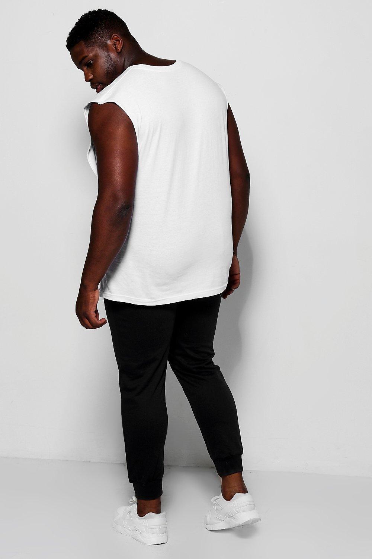 01ee458582b8b4 ... Big And Tall Boohoo Man Joggers for Men - Lyst. View fullscreen