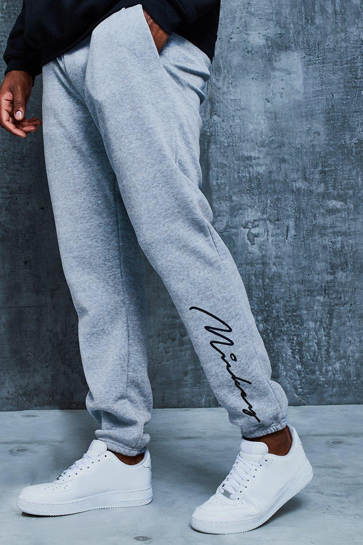 c8b800b9098d78 Boohoo Mens Big And Tall Disney Varsity Loose Fit Joggers Trousers