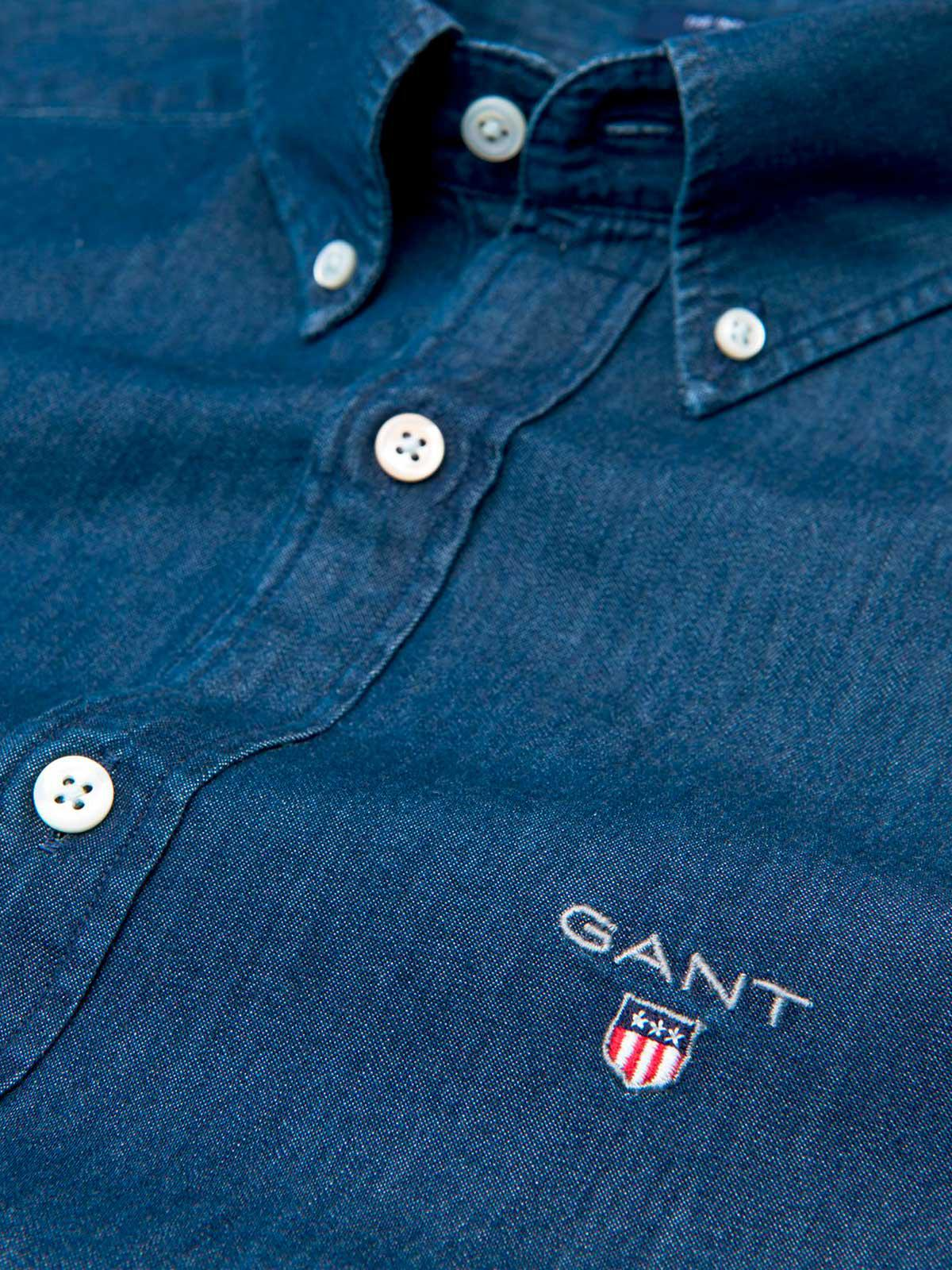 4949ba64146 Lyst - GANT The Indigo Slim Bd in Blue for Men