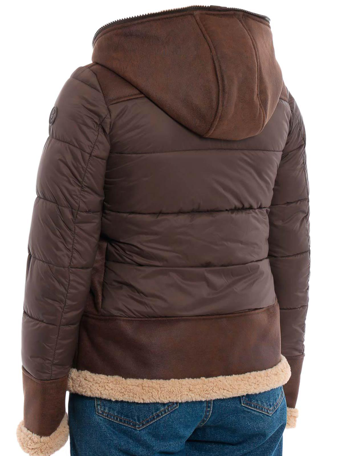 bf27b2d6de260 Lyst - Save The Duck Giubbotto in Brown
