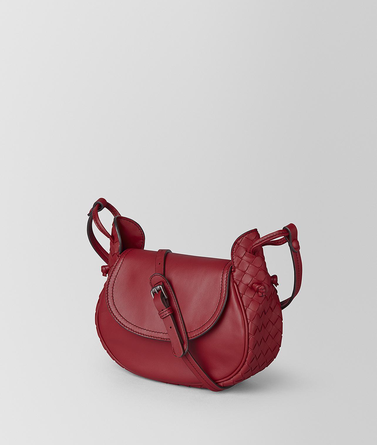 cfbd2c9dac3b Bottega Veneta Small Crossbody Bag In Intrecciato Nappa - Lyst