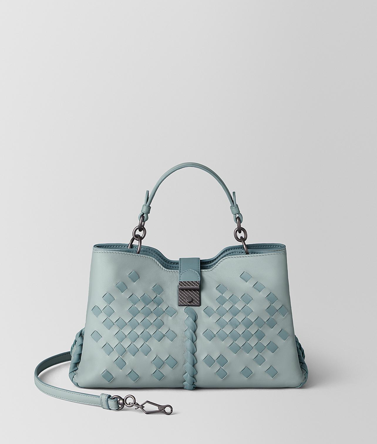 Bottega Veneta Small Napoli Bag In Nappa in Blue - Lyst 56d5cdb166141