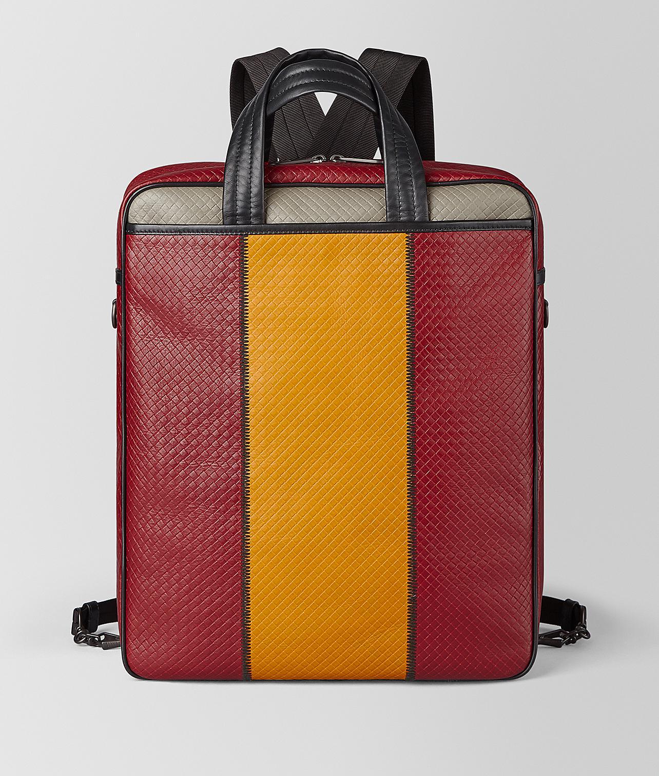 Lyst - Bottega Veneta Backpack In Micro-intrecciato Embossed for Men f4084d4192b36