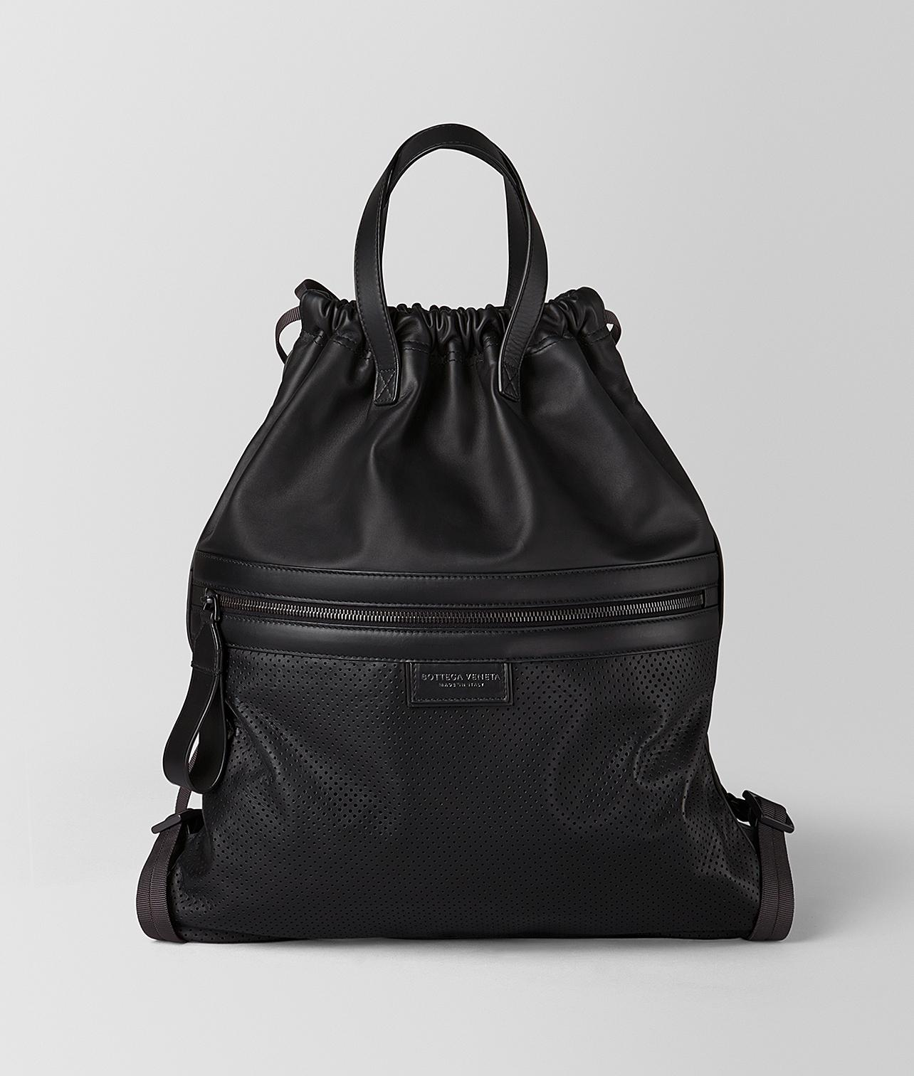 49fd48dec5 Bottega Veneta - Black Backpack In LEGGERO for Men - Lyst. View fullscreen