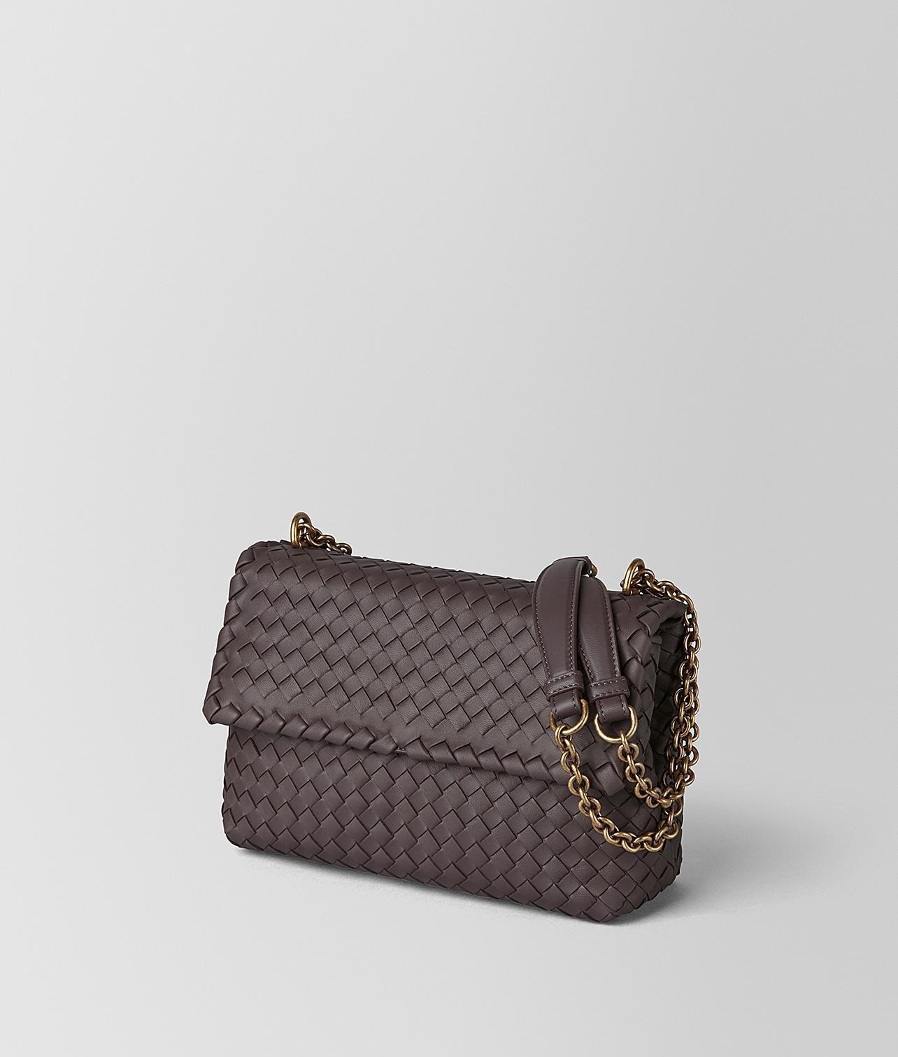 8946fbf25288 Bottega Veneta Small Olimpia Bag In Intrecciato Nappa - Lyst
