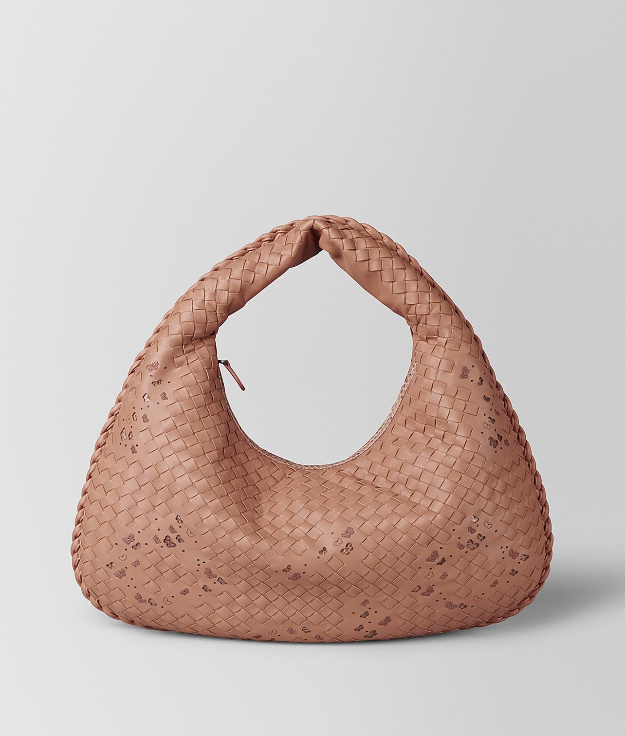 Bottega Veneta. Women s Dahlia Intrecciato Nappa Ayers Medium Veneta Bag e04d00a100e94