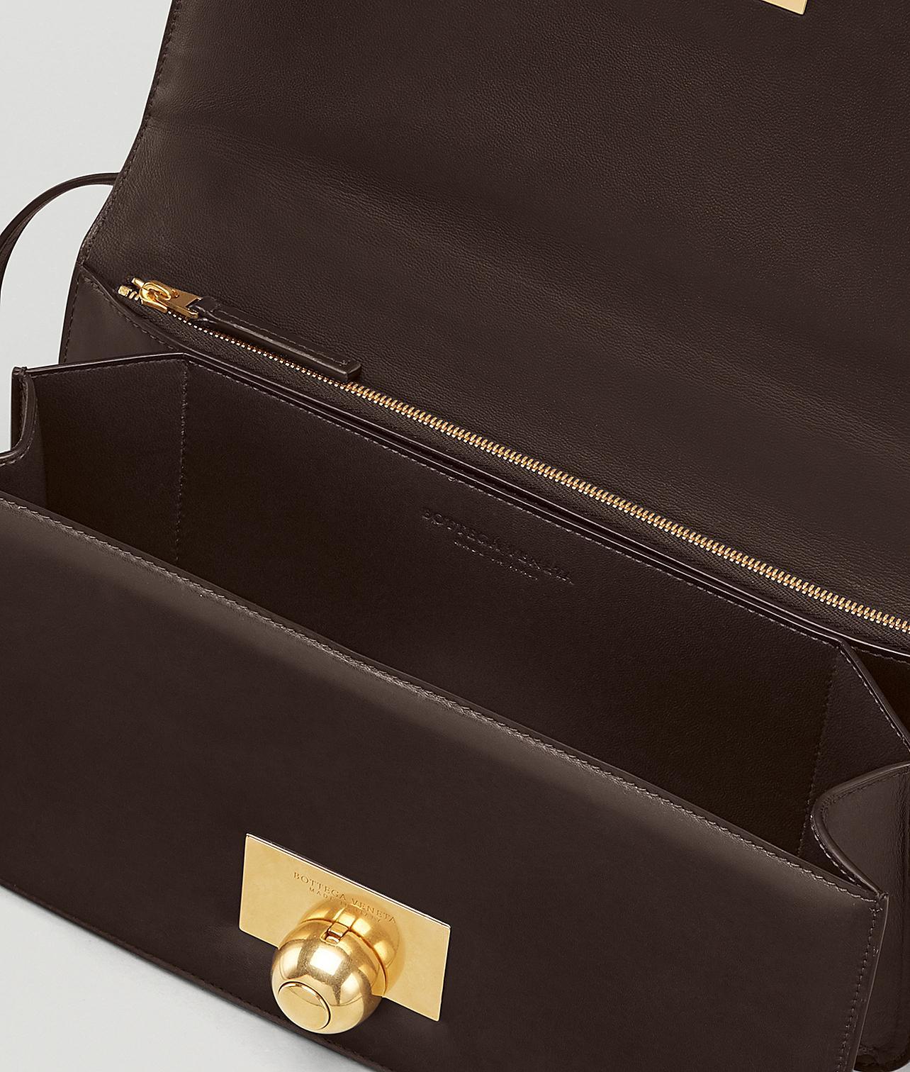 BOTTEGA VENETA Spazzolato Calfskin Classic Mini BV Bag