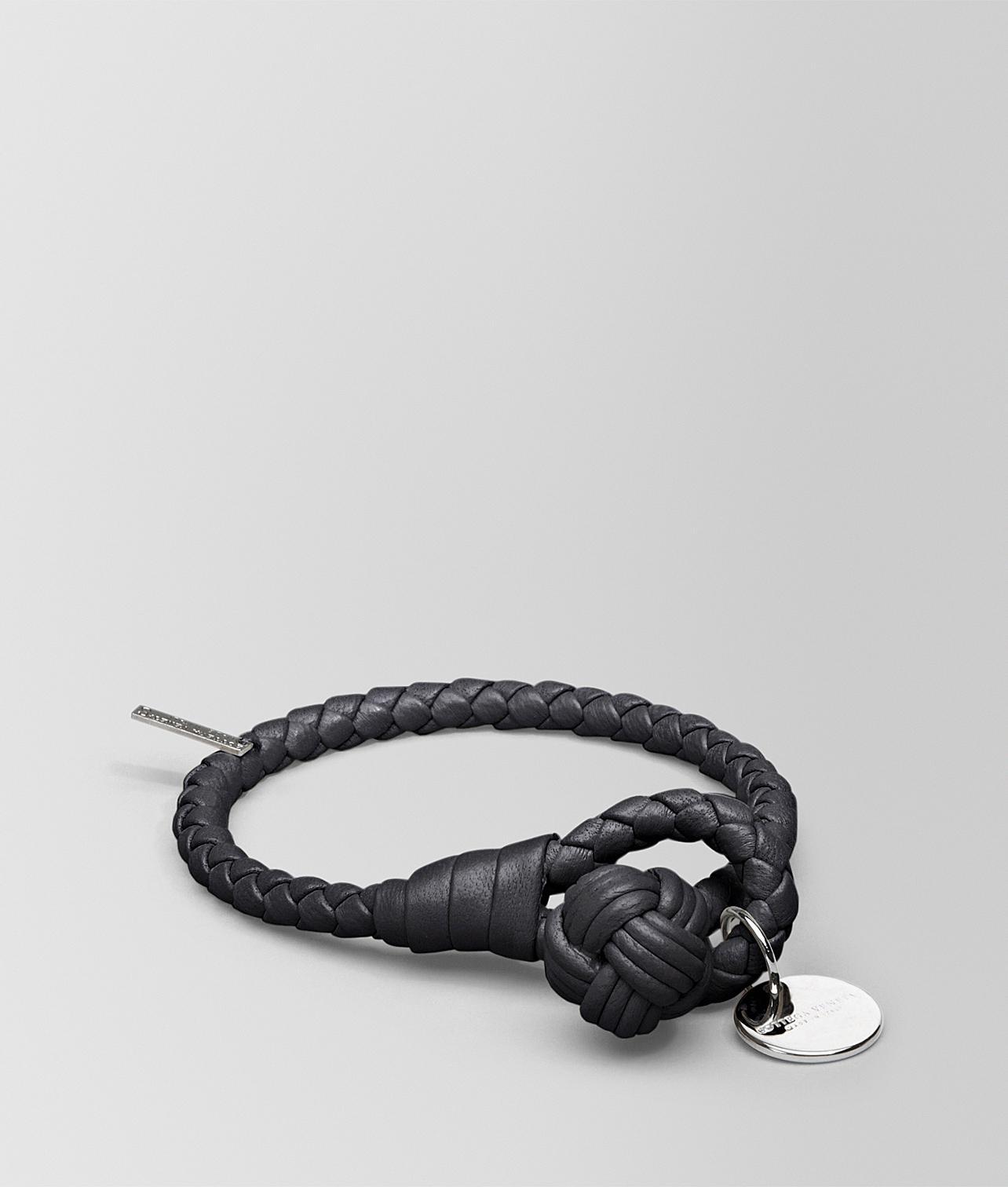 668ce37d3d027 Bottega Veneta Bracelet In Nero Intrecciato Nappa in Black for Men ...