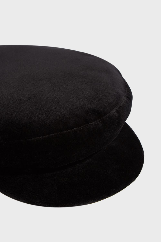9db23c45e8e Janessa Leone - Black Mattie Velvet Cap - Lyst. View fullscreen