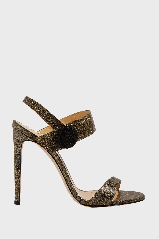 fff92327697585 Chloe Gosselin. Women s Tori Glittered Leather Sandals