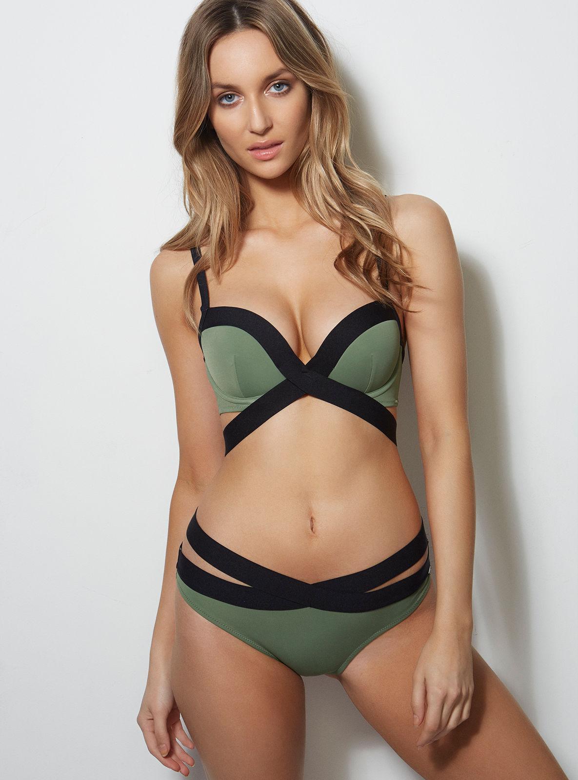 4caad65b76 Lyst - Boux Avenue St Kitts Bikini Briefs in Green - Save 49%