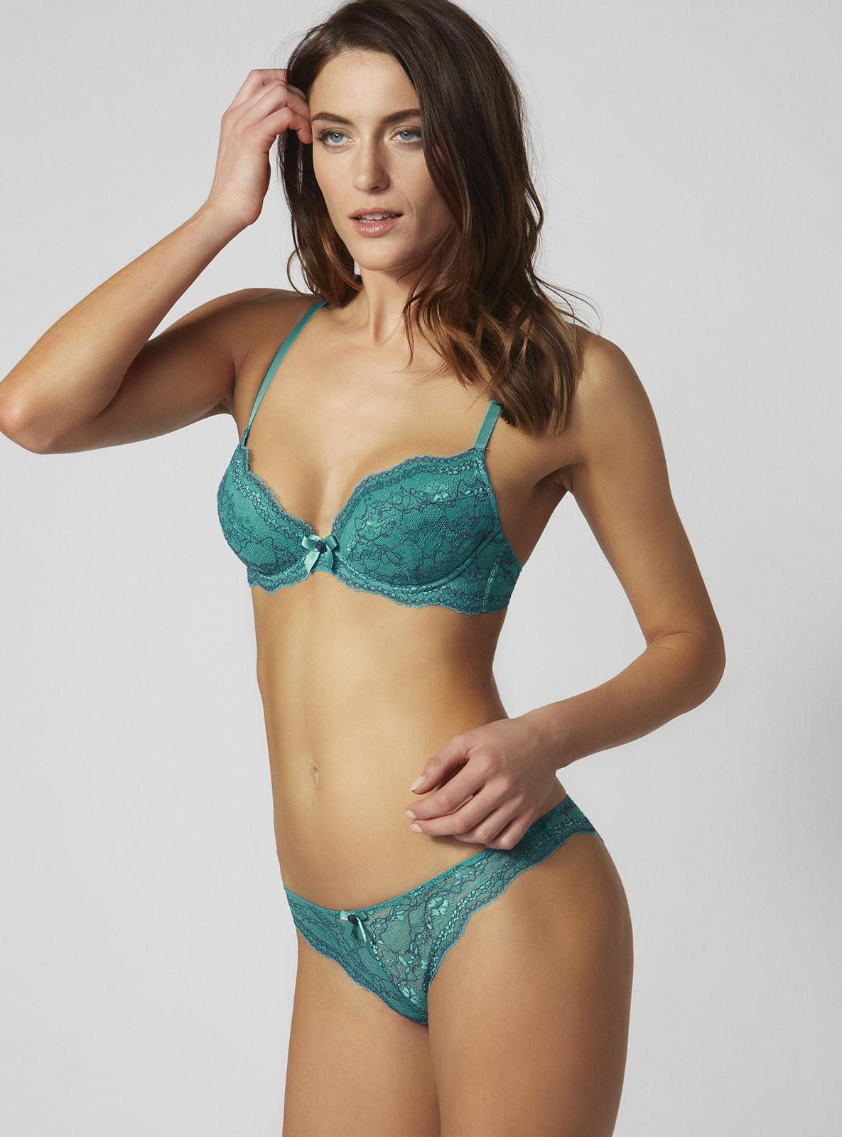 99a9091aed666 Lyst - Boux Avenue Chloe Contrast Plunge Bra