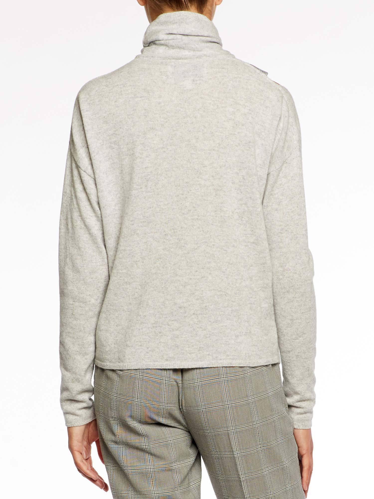ec80326e097cc9 Brochu Walker - Multicolor The Fae Cut Shoulder Pullover - Lyst. View  fullscreen