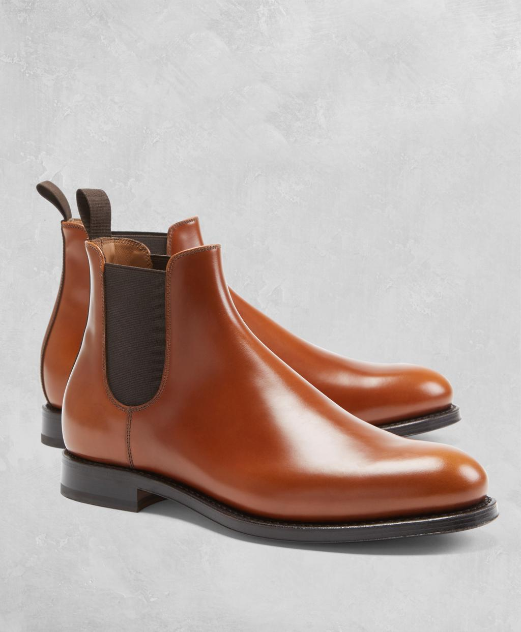 bf7b30b417f Brooks Brothers Golden Fleece® Chelsea Boots in Brown for Men - Lyst
