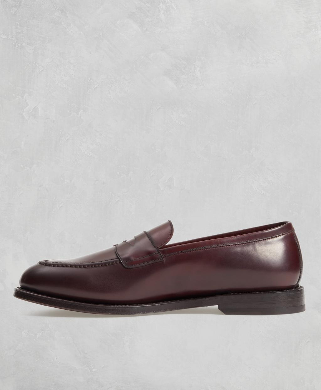 24d255fb9d35e Lyst - Brooks Brothers Golden Fleece Cordovan Penny Loafers for Men