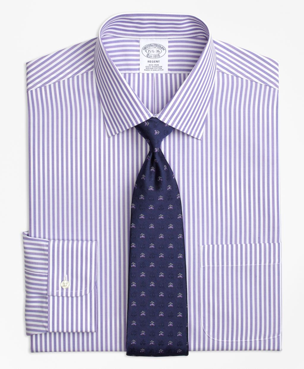 Lyst brooks brothers regent fitted dress shirt non iron for Brooks brothers non iron shirts review