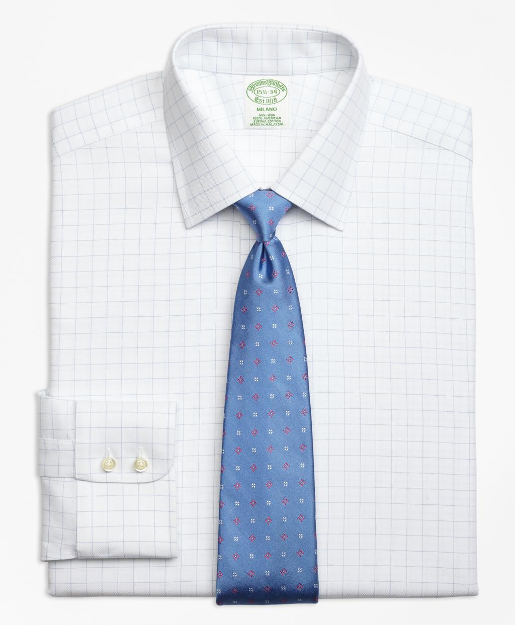 Lyst Brooks Brothers Non Iron Milano Fit Royal Oxford