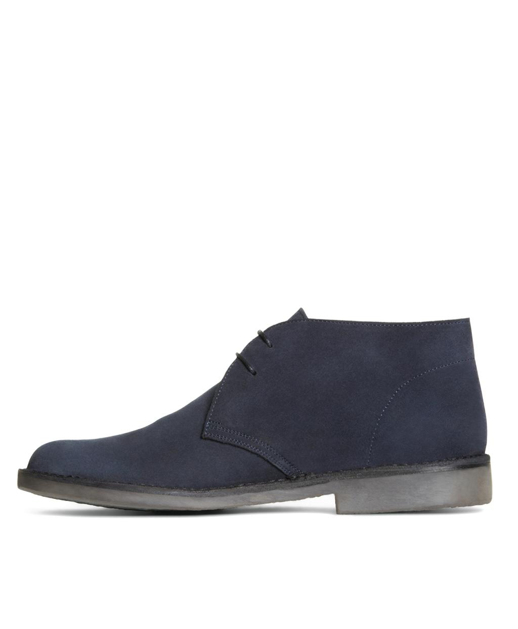 79377dc3098 Lyst - Brooks Brothers Field Chukka Boots in Blue for Men