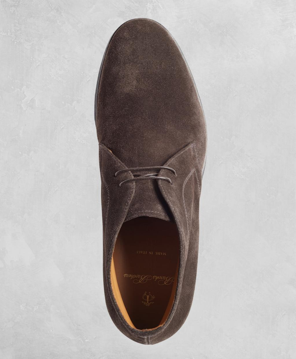 af52113fb37 Brooks Brothers - Brown Golden Fleece Suede Chukka Boots for Men - Lyst.  View fullscreen