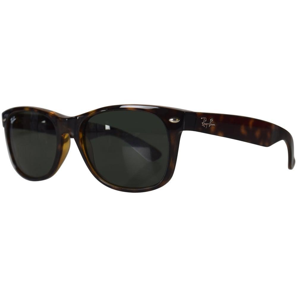 fa9497375d02d ... buy ray ban ray ban light brown wayfarer sunglasses in black for men  lyst c45d3 5674a