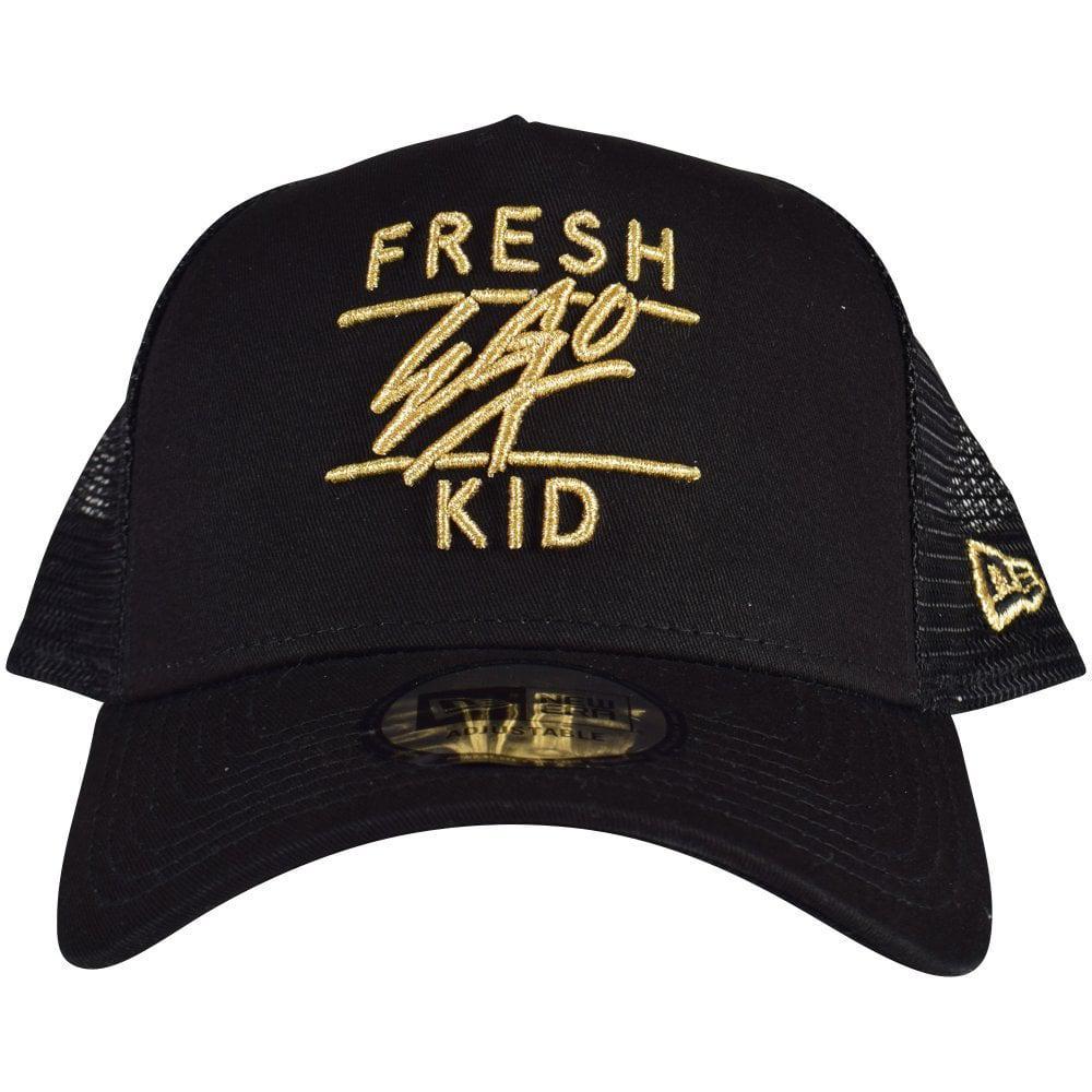3f0a013a142 ... Gold New Era Adjustable Baseball Cap for Men - Lyst. View fullscreen