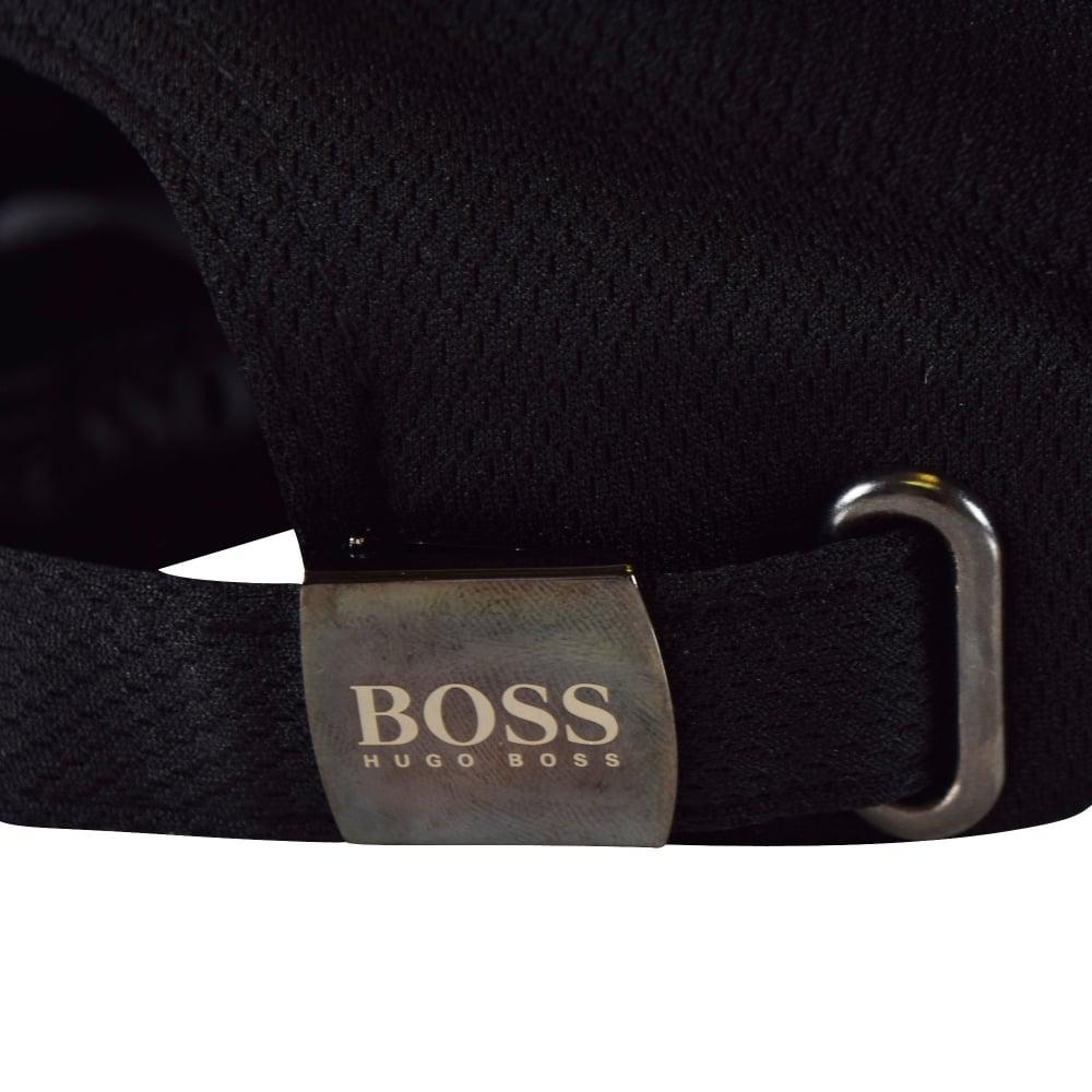 Lyst - BOSS Athleisure Logo Cap 50376808 001 in Black for Men d3af1bb4cf51